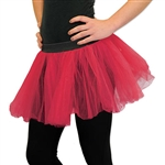 Use Dj-Party's red tutu to complete your ballerina outfit today! Pair this tutu with matching fairy wings to complete your fairy costume.