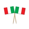 Italian Flag Picks (50/pkg)