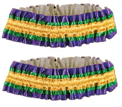 Mardi Gras Arm Bands (2/Pkg)