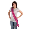 Pink Bride To Be Sash