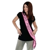 Girls' Night Out Satin Sash