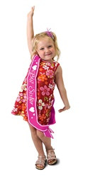 Big Sister Satin Sash