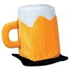 Plush Beer Mug Hat