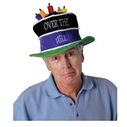 Plush Over The Hill Birthday Cake Hat