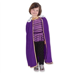 Child's Purple King/Queen Robe