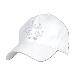 Embroidered Mom To Be Cap