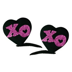 XOXO Hair Clips (2/pkg)