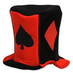 Card Suit Fabric Hat