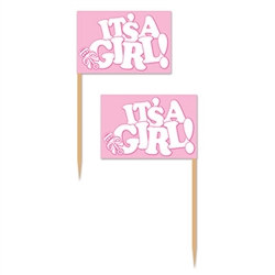 It's A Girl! Picks (50/pkg)
