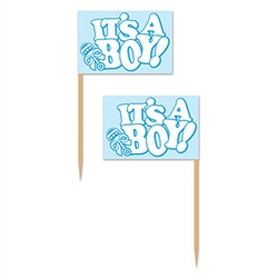 It's A Boy! Picks (50/pkg)