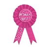 Cerise Birthday Girl Rosette Award Ribbon