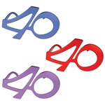 40th Fanci-Frames (1/pkg)