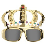 Jeweled Crown Fanci-Frames