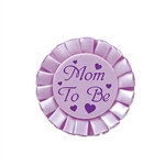 Mom to Be Satin Button