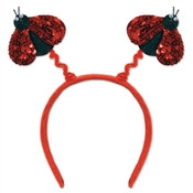 Sequined Ladybug Boppers
