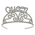 Glittered Queen Tiara