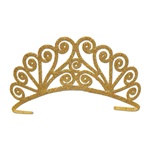 Gold Glittered Tiara