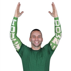 Touchdown Party Sleeves