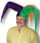 Plush Floppy Jester Hat