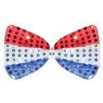 Patriotic Glitz N Gleam Bow Tie