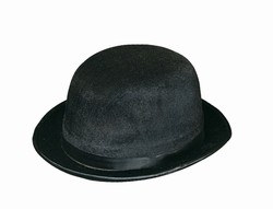 Black Vel-Felt Derby