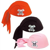 Pirate Scarf Hat (Select Color)