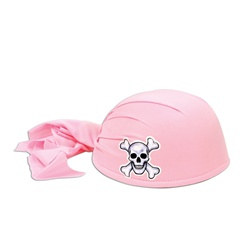 Pink Pirate Scarf Hat