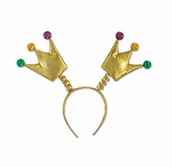 Mardi Gras Crown Boppers (1/Pkg)