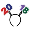 Our 2018 Boppers are the ideal accessory for your New Year's party or graduation! A black fabric covered headband is adorned with colorful felt 20 and 18. One size fits most adults. Not returnable.