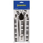 Piano Keyboard Suspenders