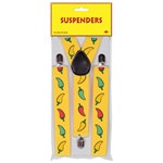 Chili Pepper Suspenders