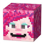 Gamer Girl 8-Bit Box Head