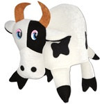 Plush Cow Hat