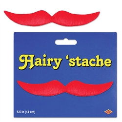 Red Hairy Mustache