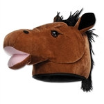 Plush Horse Head Hat