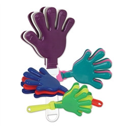Assorted Medium Hand Clappers (1/pkg)