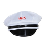 Show up for the occasion with our Milkman Hat. Whether it's a 1920's theme party or a farm party, this Milkman Hat is sure to be the talk of the town! Due to hygiene-related concerns, this item is nonrefundable and nonreturnable. Comes one per package.