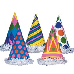Fringed Party Hats