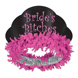 Glittered Bride'S Bitches Tiaras