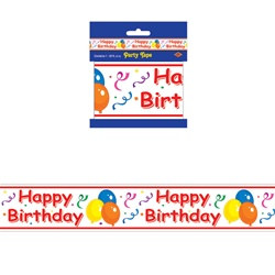 Happy Birthday Party Decoration Tape
