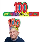 Look Who's 100 Headband