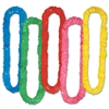 Assorted Soft Twist Poly Leis (sold 12 per box)
