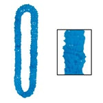 Blue Soft Twist Poly Leis (sold 12 per box)