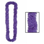 Purple Deluxe Soft-Twist Poly Leis