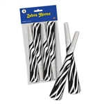 Packaged Zebra Horns (4/Pkg)