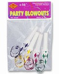 Party Blowout Noisemakers