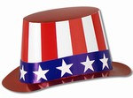 Patriotic Hi-Hat (sold 25 per box)