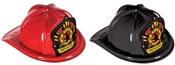 Plastic Firefighter Hat with Firefighter Shield (Choose Color)