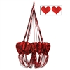 When it comes to Valentine's Day decorations, this might be the one that wins his/her heart. Our Heart Chandelier is a great hanging decoration when Valentine's Day, the day of love, rolls around. It measures 35 inches and only requires minor assembly.