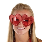 Glittered Heart Fanci-Frames